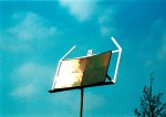 Das Notenblatt bilden Solarmodule