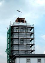 BfUL Radebeul-Wahnsdorf<br/>Turmgebäude und Wetterfahne