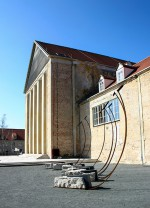 """Klangskulptur """"GEA""""<br />Standort: Europäisches Zentrum der Künste, Festspielhaus Hellerau"""
