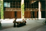 "Klangskulptur ""GEA""<br/>Standort vor der Münchner Philharmonie 1993 bis 1997"