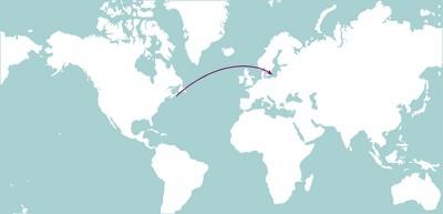 Die Migration der amerikanischen Rippenqualle in die Nordsee und Ostsee